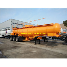 21cbm 23T Sulfuric Acid Transportation Semi-Trailers