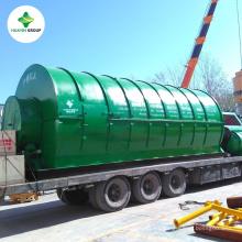 30Ton Planta continua de pirólisis de reciclaje de neumáticos de desecho sin problema de coquización