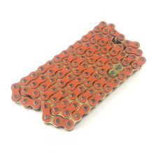 Manufacturer Roller Chain Motorcycle Chain Colored For 428/428H/420/420H Orange color