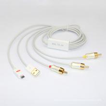 Mhl en gros à convertisseur AV Cable (YLMC101)
