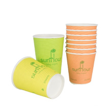 Insulated cup with lid supplied by anqing supplier_paper cup popular in Anhui