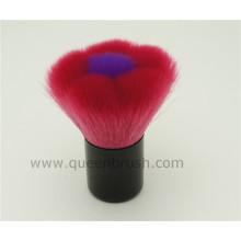 Forma de flor cabelo sintético Kabuki Makeup Brush