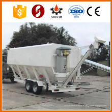 Silo de ciment de camion, silo de ciment horizontal, silo de ciment mobile