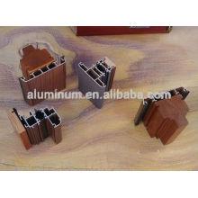 Wood aluminum extrusion profiles for door and window