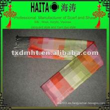 Bufanda colorida para imitación de seda