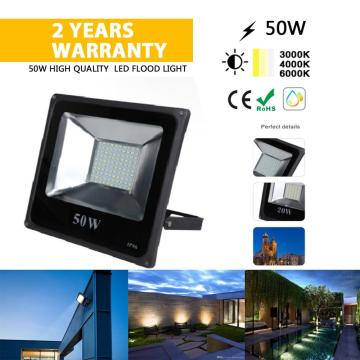 50W SMD AC85-265V outdoor LED light waterproof