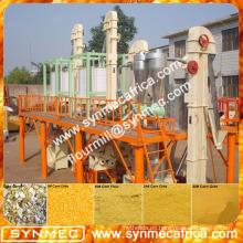 Alibaba SYNMEC pequeño precio de la máquina de molienda de harina de maíz en la India