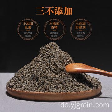 Hochwertiges schwarzes Sesam-Schwarzbohnen-Walnuss-Pulver