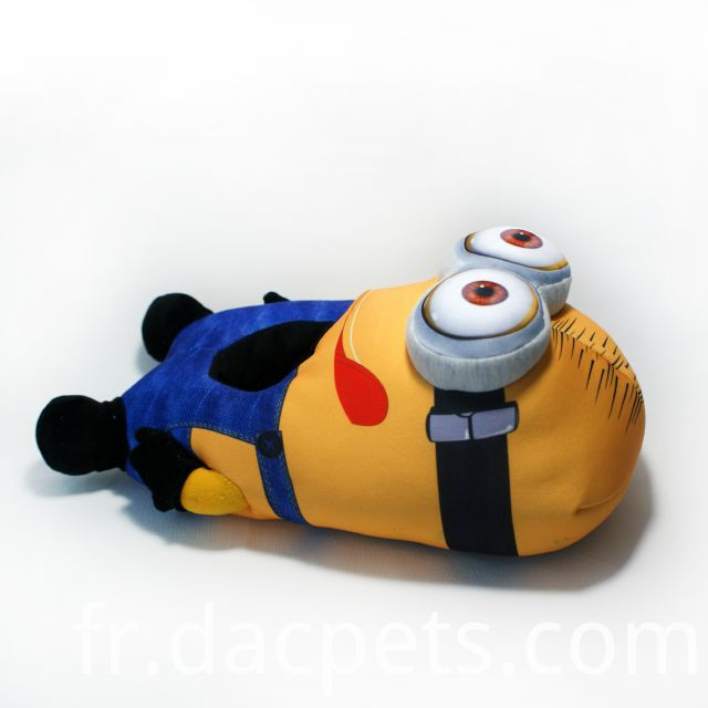 plush minions slipper