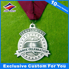 Embossed Antique Bronze Metal Sports Medallion