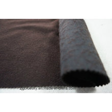 Black& Brown Doule Faces Wool Fabric