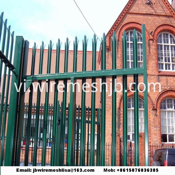 W Type And D Type Palisade Fence