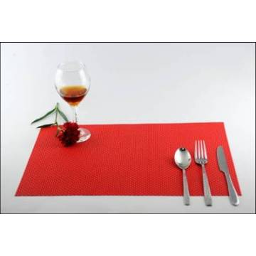 PVC äta matta Faux Leather Placemats