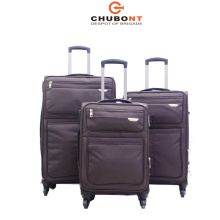 2017 New Waterproof Nylon 4wheels Suitcase