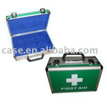 aluminum first aid case