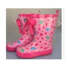 Red Upper: Children Rubber Boots (01)