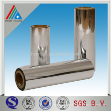High Barrier Aluminium Metallisierte BOPP Folie zum Laminieren / Bedrucken