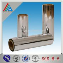 Película BOPP de alumínio de alta barreira para laminação / impressão