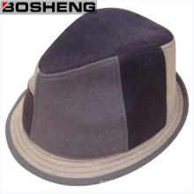 Sombrero de fieltro estructurado Unisex original de lana Fedora