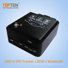 OBD Car GPS Tracker with RFID Identify Driver ID, Wireless Immobilizer Stop Engine Tk228-Ez
