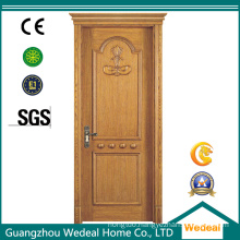Customize PVC Laminated Interior Wooden Door for Houses