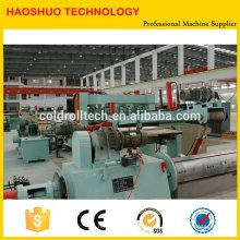 Famoso marca de alta qualidade CR SS SS GI bobinas de aço Slitting Machines