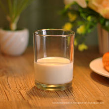 Hight White Glass Milk Cup