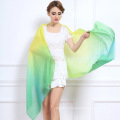 Women Fashion Tie-Dyed Gradient Color Wool Shawl (YKY4518)