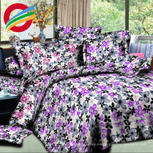 alta calidad 3d tejido impreso textil hogar hoja de cama conjunto