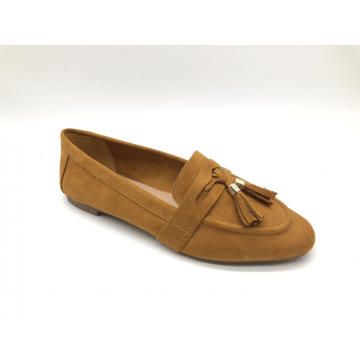 Tassel Slipon Loafer Flats Sapatos femininos