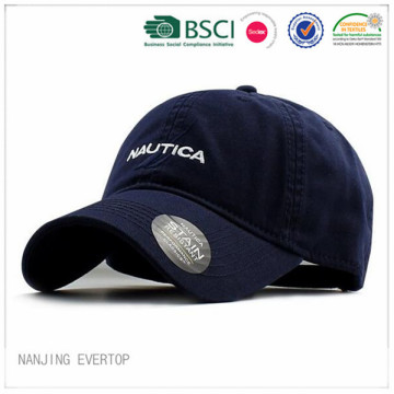 Adult Navy Washed Cotton Sports Cap