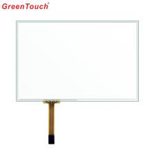 Panneau d'écran tactile résistif de 7 pouces à 4 fils