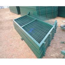 ПВХ покрытием проволоки сетка Заборная панели (ТС-L139)