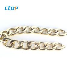 China wholesale antique brass metal chains purses custom bag chains for handbag chain