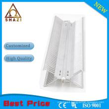 Aluminum fan heater element