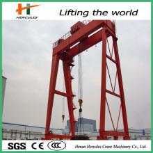 China Double Girder Project Gantry Crane Manufacturer