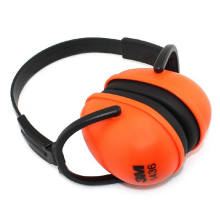 Fashion Orange Design Safety ABS Earmuff with Ce