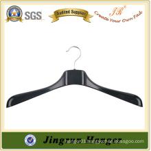 Thick Antique Black Plastic Jacket Hanger