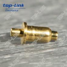 Pin de Pogo de Doble Cabeza (clavija simple, conector de resorte)