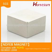 powerful magnetic china mmm 100 mmm ndfeb magnet N45 block magnet