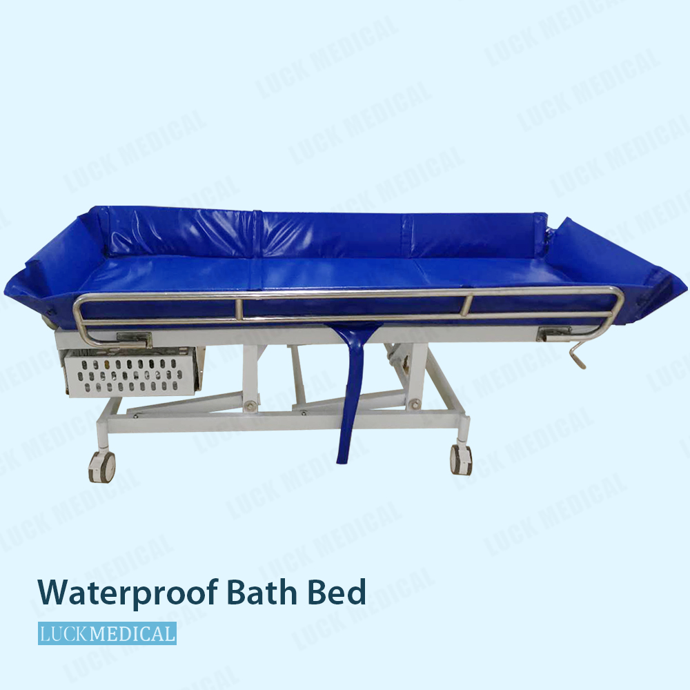 Mp Waterproof Plastic Bath Bed Hospital Use For Patient02
