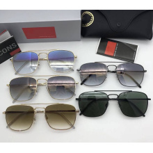 Gafas de sol polarizadas para hombres con lentes de colores
