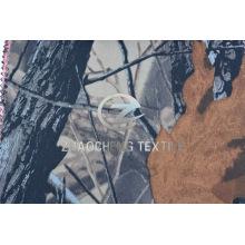 100% хлопчатобумажная ткань Twill со светло-серым лесом Camou для жилета (ZCBP261)