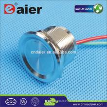 22 mm piezo; pz; Interruptor de botón 30vdc