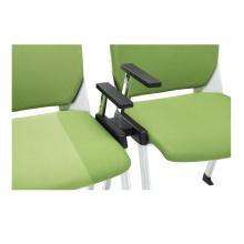 Foshan empilant la chaise de conférence de bureau de fer / chaise de réunion
