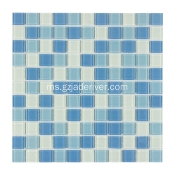 Kolam Renang Crystal Glass Mosaic Tile