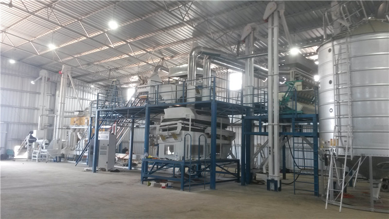Grain Seed Cleaning Processing Plant
