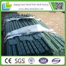 Lower Price 8ft Long 0.95lb/Ft Green T Post for Farm Fence