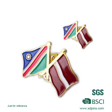 Großhandel Metall Nationalflagge Anstecknadel (xd-0904)