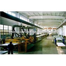 Machine d'extrusion de coffrage de construction en plastique